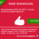Pankista lainaa lainojen yhdistämiseen
