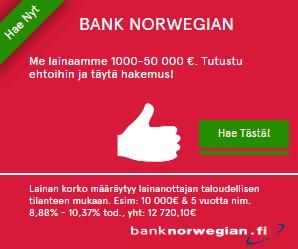 Pankkilaina vertailu