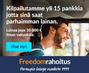 Freedomrahoitus.fi laina