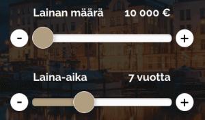 Kattokorko.fi Lainalaskuri